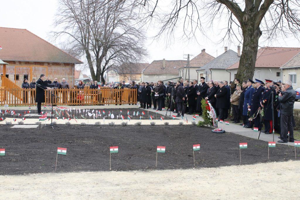 Ünnepi beszédet mond Németh Zoltán a Győr-Moson-Sopron Megyei Közgyűlés elnöke